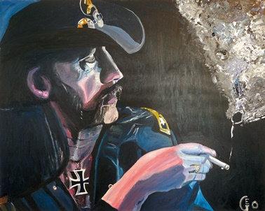 "100 x 80 cm - ""Lemmy Lord"""