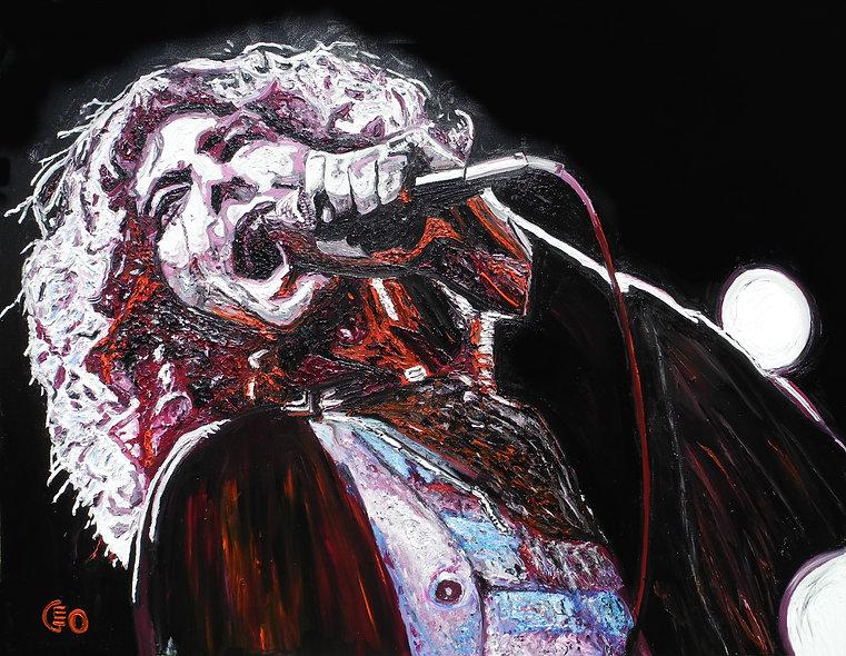 130 x 100 cm - Robert Plant
