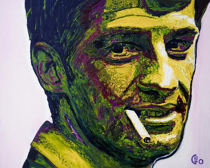 100 x 80 cm - Jean-Paul Belmondo