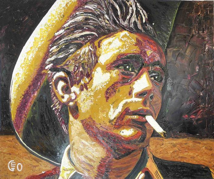 120 x 100 cm - James Dean