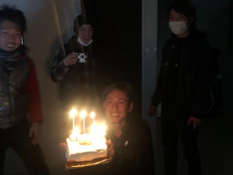 沖ちゃん、お誕生日おめでとう🍰