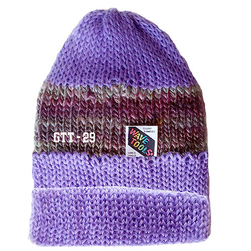 LAVENDER COLOR - Hand Knitted Beanie Hat for Men and Woman #29