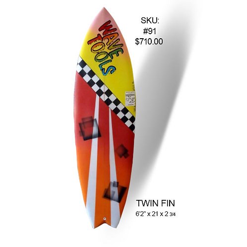 Wave Tools Modern Twin fin