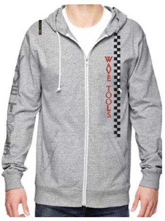 WAVE TOOLS RAINBOW Zip HOOD Sweat Shirt