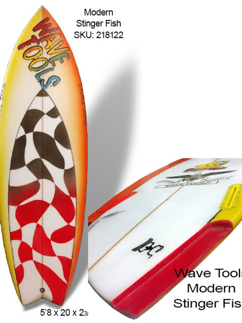 Wave Tools ClassicTwin Fin - STINGER FISH