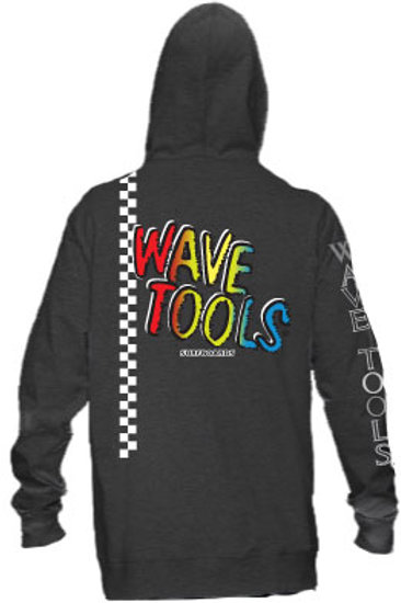 WAVE TOOLS Vert-Check RAINBOW Zip HOOD Sweat Shirt
