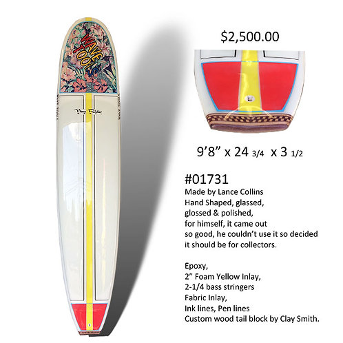 Wave Tools, STEP DECK NOSE RIDER LONGBOARD