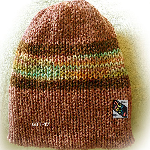 Hand Knitted Beanie Hat for Men and Woman