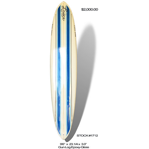 Wave Tools Longboard, Comp Model Single Fin