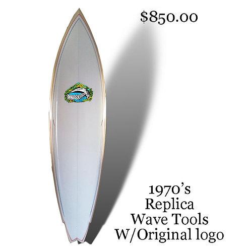 Wave Tools Replica of 1970's with original 70's logo