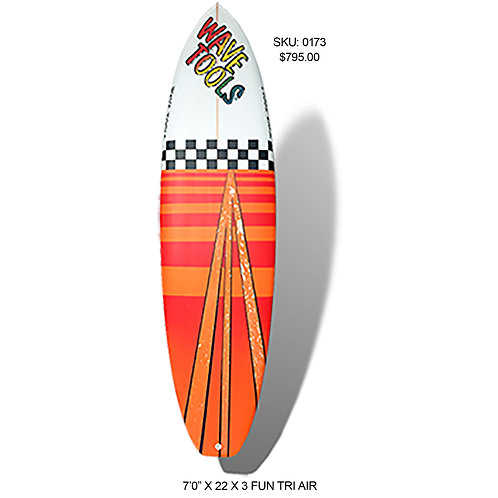 Wave Tools Modern Twin Fin, Air Fun Shape