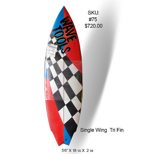 Wave Tools Single Wing Tri Fin