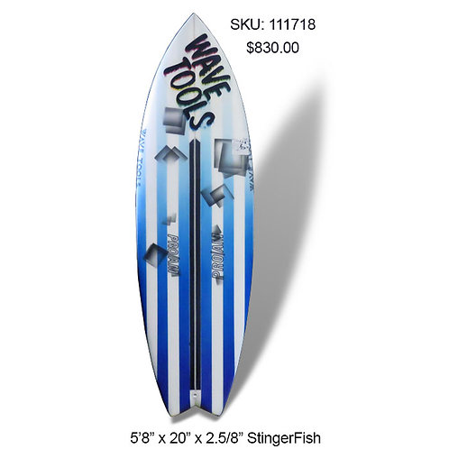 Wave Tools Modern Twin Fin Stinger Fish