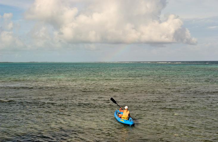 Salt Water Kayak Fly Fishing Image B&C BECK Image 0703.JPG