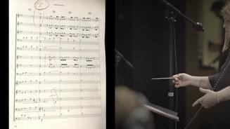 "Orchestral Score Excerpt: ""Architecture"""