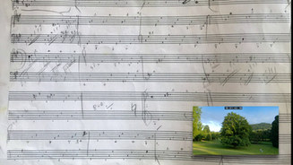 """Sketch Excerpt - """"1001 Baum"""""""