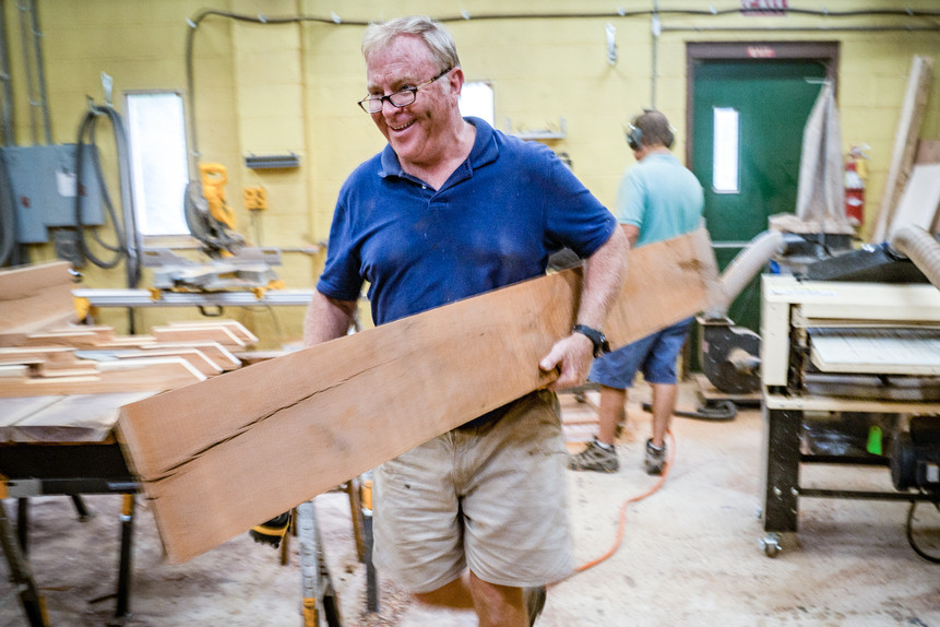 Stable Tables started out of John Duffy's garage in Whitemarsh, PA, but after a hectic year with over $500,000 worth of total sales, he moved into a larger shop in Conshohocken, PA. (Grid Magazine – September 2019)