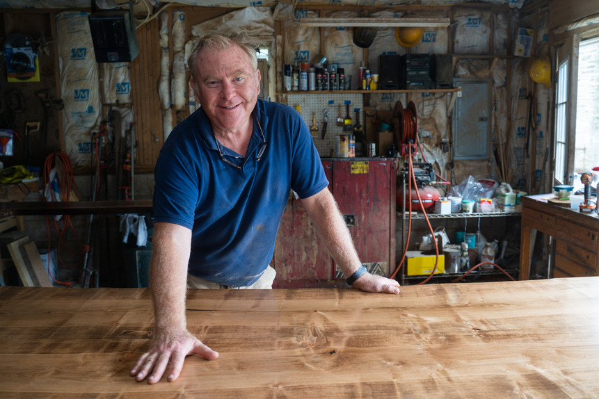 John Duffy started Stable Tables to fill a need for customized, local tables. He makes them from fallen trees, reclaimed lumber and wood from old houses and barns. (Grid Magazine – September 2019)