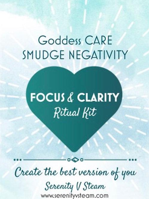 Goddess Care Smudge Negativity Kit