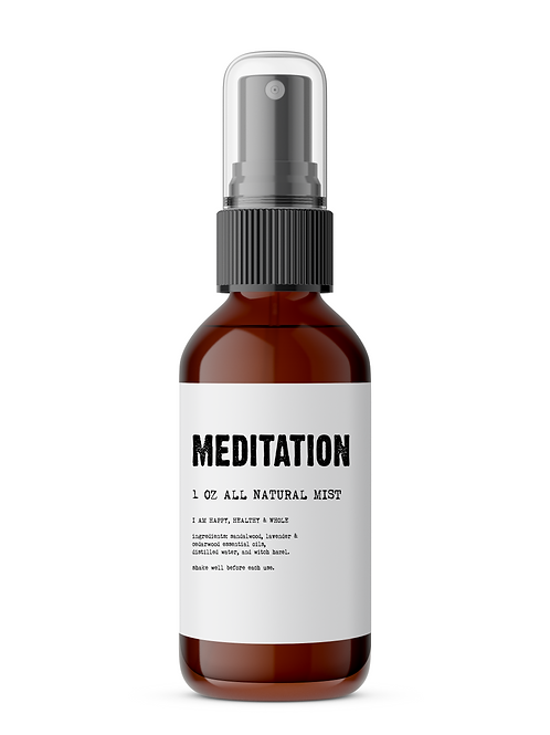 Meditation - Meditation/Body Mist - Made With All Natural Ingredients