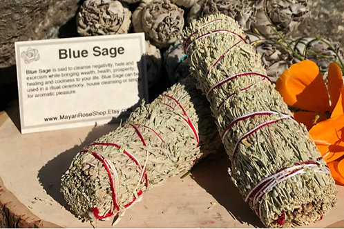 Blue Sage Smudge Stick