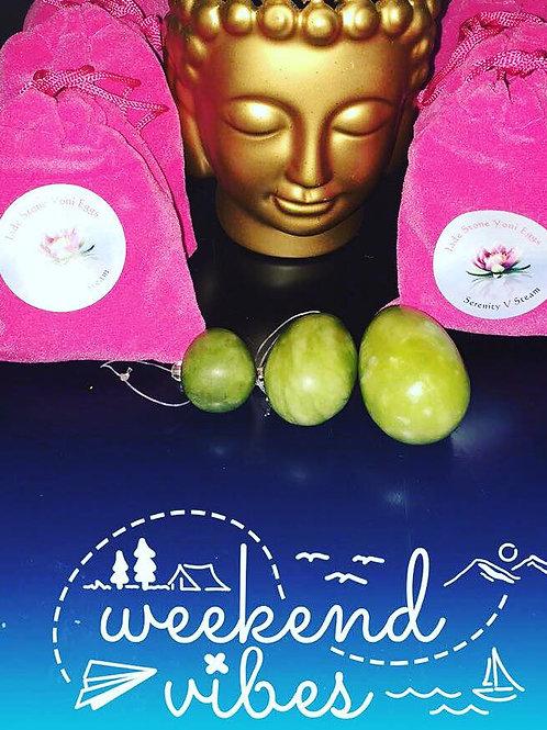 Jade Yoni Egg- Set of 3