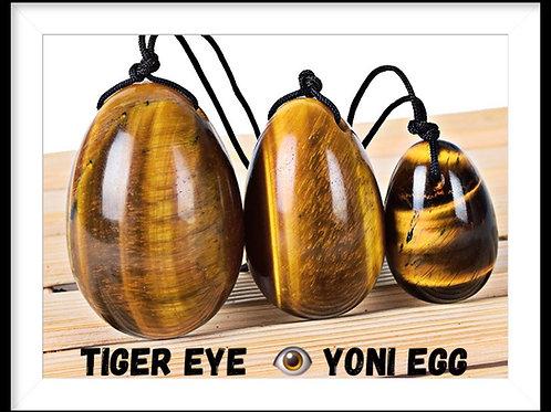 Tiger Eye 👁 Yoni Egg