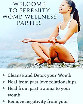 Book a V Steam Womb Healing Party_🧘🏿♂