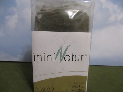 2 MM Short hay Static Grass 100 grams 002-09