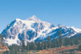"Rocky Mountains Background 13"" x 38"