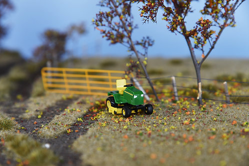 Green and Yellow Lawn  Mower