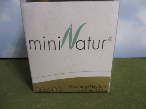 4 MM Hay Long  Static Grass 100 grams 004-09