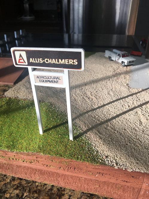 Allis Chalmers Dealer Sign