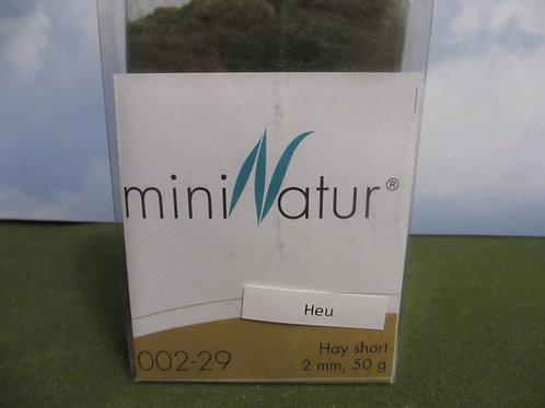 2 MM Hay Short Static Grass 50 grams 002-29