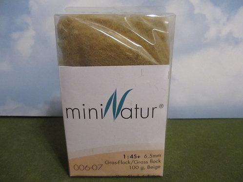 6 MM Beige Static Grass 100 grams 006-07