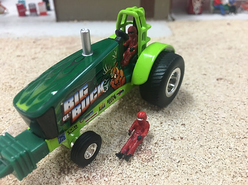 Pulling Tractor Driver