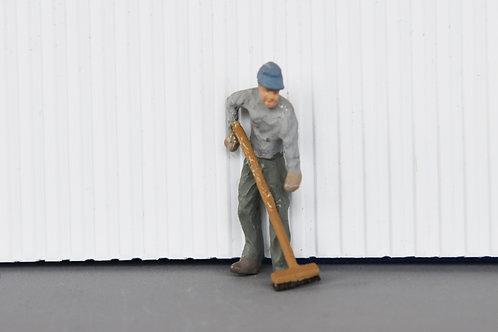 Sweeping Man