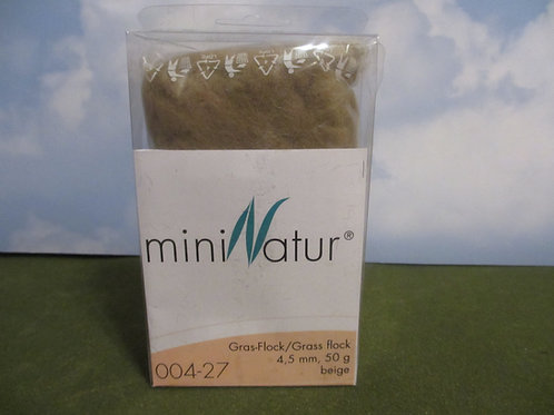 4 MM Beige Static Grass 50 grams 004-27
