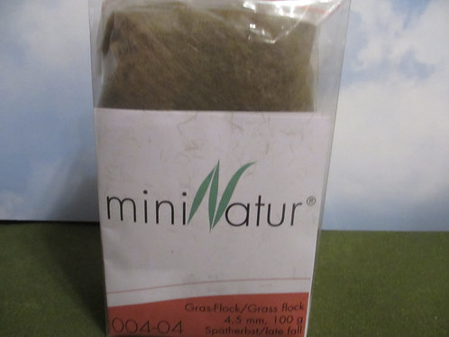 4 MM Late Fall Static Grass 100 grams 004-04