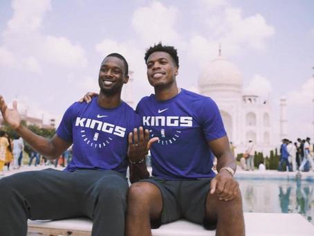 NBA Brings Basketball to India