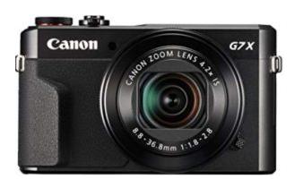Canon Powershot G7 X Mark II Digital Cam