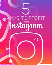 5 Ways to Profit from Instagram