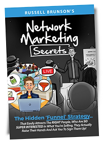 Network Marketing Book by Russell Brunson, Click Funnels Founder