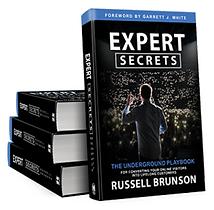 Expert Secrets Book by Russell Brunson, Click Funnels Founder