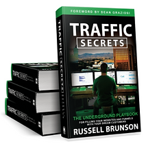 Traffic Secrets Book by Russell Brunson, Click Funnels Founder