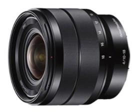 Sony - E 10-18mm F4 OSS Wide-angle Zoom