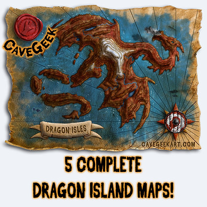 DIGITAL - Dragon Isles Map Pack