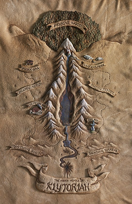Klytoriah Map Giclée Reproduction