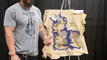 GAME OF THRONES MAP AT BOSTON COMICON!