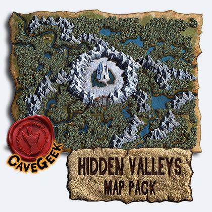 DIGITAL - Hidden Valleys Map Pack